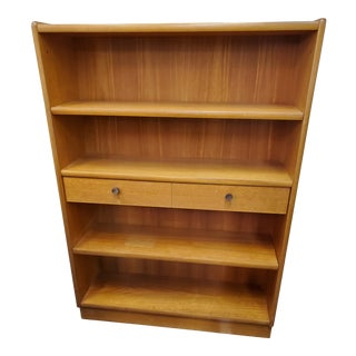 Vintage Mid-Century Modern Bookcase by Nathan For Sale