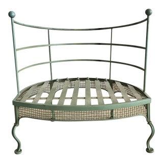 Midcentury Garden Chair by Woodard For Sale