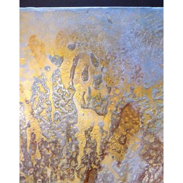 """Abstract Contemporary Abstract Titled """"Asteroid"""" by Brazilian Artist Andre Brandao For Sale - Image 3 of 10"""