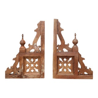 Antique Architectural Brackets - A Pair For Sale