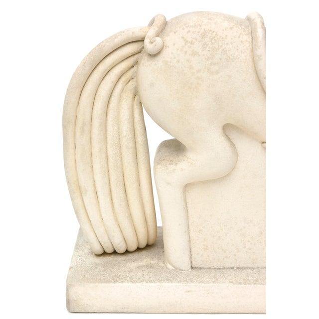Italian Ceramic Horse by Colette Guedin for Primavera For Sale - Image 10 of 10