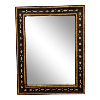 Moroccan Rectangular Inlay Wall Mirror For Sale