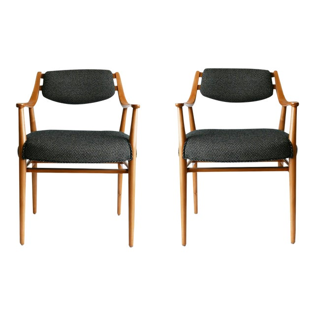 Pair of Scandinavian Designed Chairs For Sale