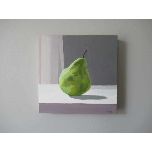 Impressionism Pear by Anne Carrozza Remick For Sale - Image 3 of 6