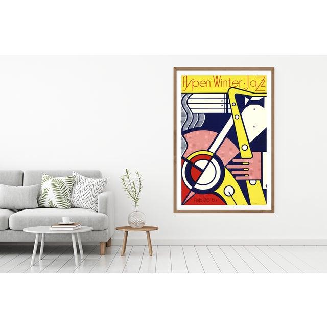 Modern 'Aspen Winter Jazz' Serigraph by Roy Lichtenstein For Sale - Image 3 of 4