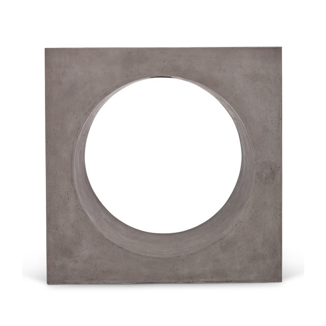 Dark Gray Kelly Console, Dark Grey For Sale - Image 8 of 12