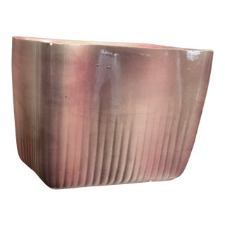 Mid-Century Modern Usa Pink Planter For Sale