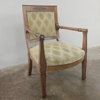 19th Century French Empire Mahogany Armchair Preview