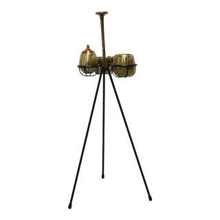 Vintage Ben Seibel Design Jenfredware Smoking Stand - Mid Century Modern For Sale