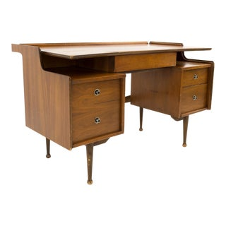 Mainline by Hooker Mid Century Floating Desk For Sale