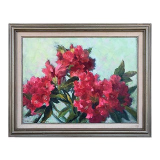 Alstroemeria by Doris Winchell Baker For Sale