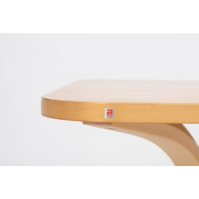 Asko Mid-Century Modern-Style Birch Coffee Table For Sale - Image 10 of 11