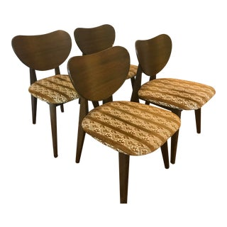 1950s Mid Century Modern John Keal for Brown-Saltman Dining Chairs - Set of 4