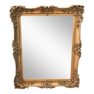 """Large 44"""" H Antique Gilt Wood Frame"""