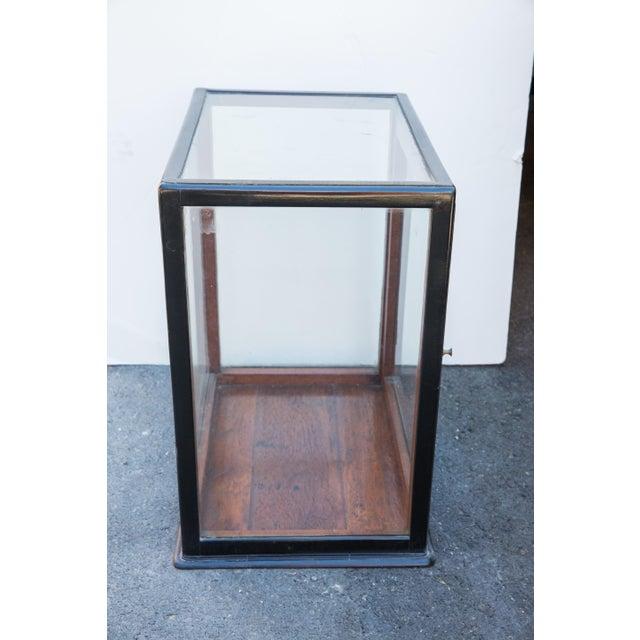 Ebonized Curio Cabinet For Sale - Image 7 of 9