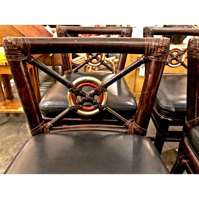 Metal McGuire Bar Stools For Sale - Image 7 of 10