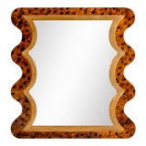 Image of Fleur Home x Chairish Carnival Mystic Rectangle Mirror in Tortoise, 24x36 For Sale