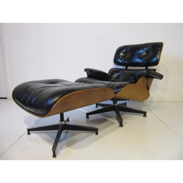 Mid 20th Century Eames 670 Lounge Chair and Ottoman by Herman Miller For Sale - Image 5 of 10