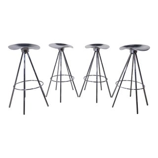 1990s Pepe Cortes Mid Century Bar Stools - Set of 4