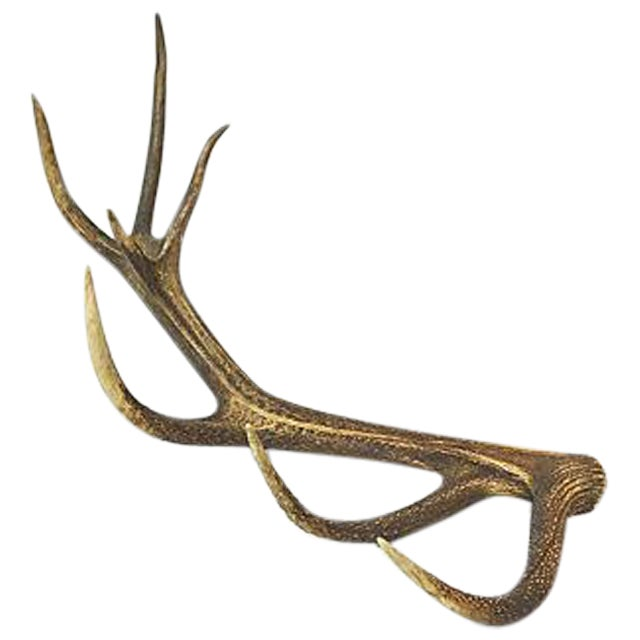 Vintage Natural Antler - Image 1 of 4