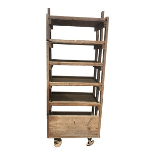 Early 20th Century Antique Shoe Rack For Sale