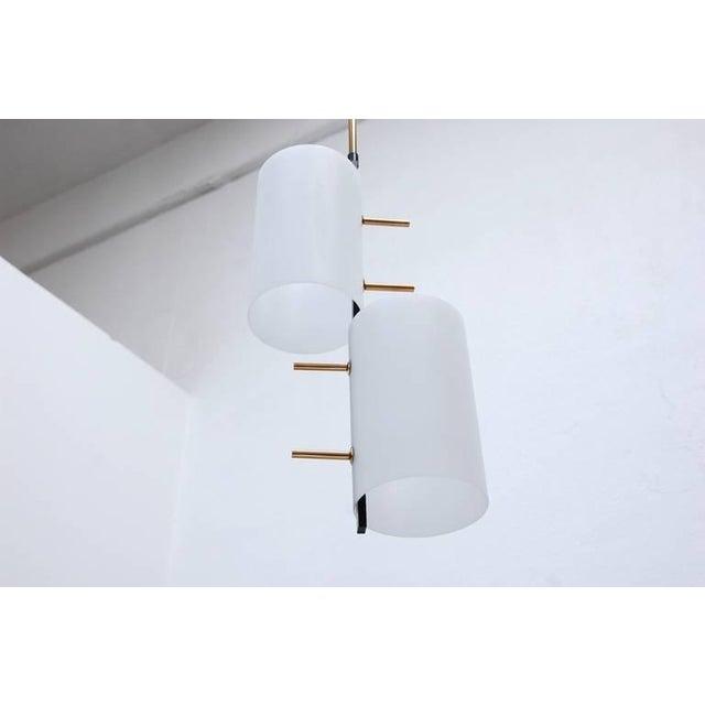Gold Mid-Century Modern Stilnovo Pendants For Sale - Image 8 of 10