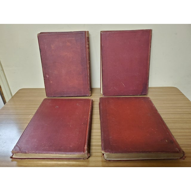 Late 19th Century 1873 the Works of Shakespeare Books - Set of 4 For Sale - Image 5 of 13