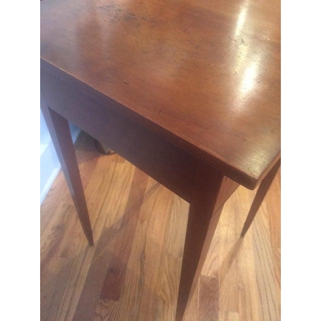 Boxwood 18th Century Hepplewhite Cherrywood Nightstand For Sale - Image 7 of 8