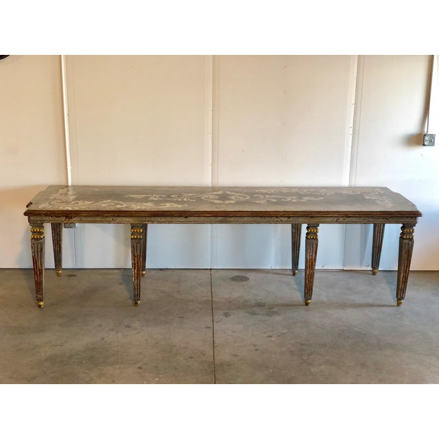 Hand Painted Dining Table - Image 6 of 6