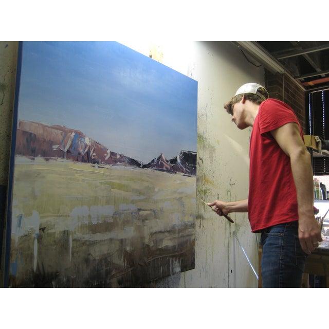 Contemporary David Shingler Painting - Moab Plains. Utah For Sale - Image 3 of 4