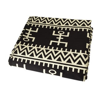 """African Black & White Kente Cloth Cotton Fabric,12 Yards by 43"""" For Sale"""