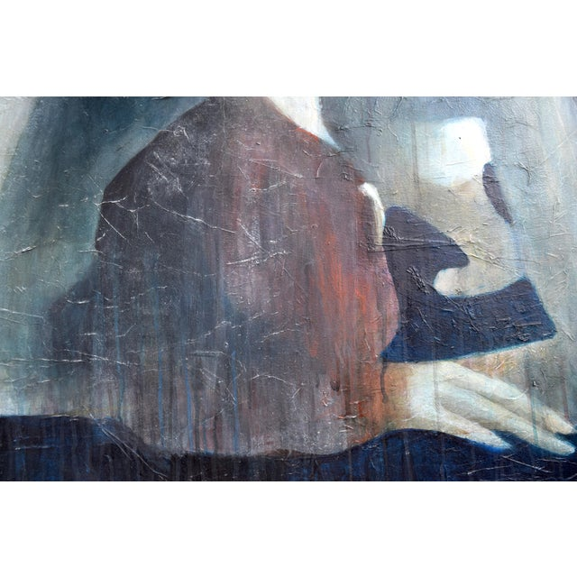 'Nuda Peccatum Aderit' Modern Painting - Image 6 of 9