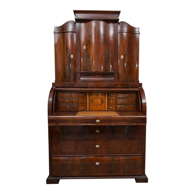 19th Century Danish Biedermeier Bureau Secretary Desk - Image 1 of 10