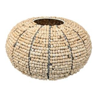 Tribal Fair Trade Beaded Vase For Sale
