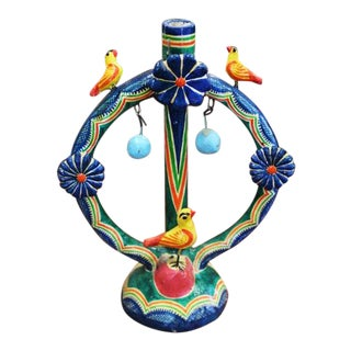Vintage Mexican Candle Holder