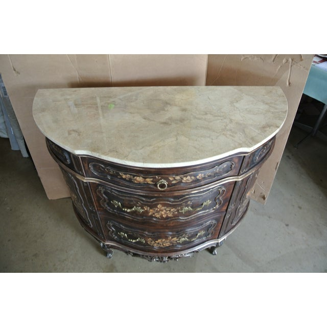 Early 20th Century French Hand Decorated Commode For Sale - Image 5 of 7