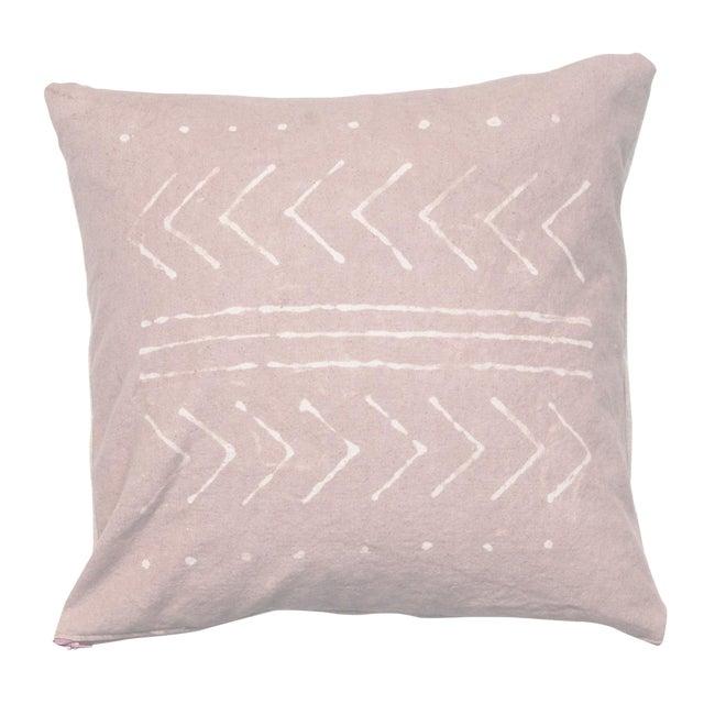 Rose Quartz Tribal Pattern Pillow Cover - Image 1 of 5