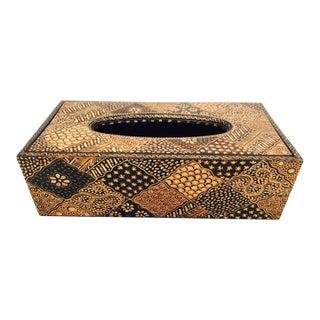 Batik Pattern Tissue Box For Sale