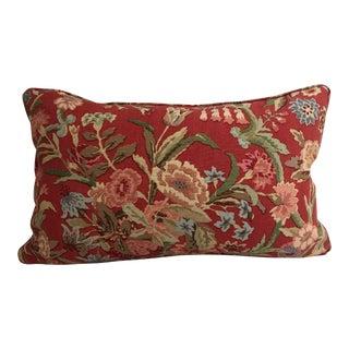 Cottage Custom Pillow Lee Jofa Port Eliot David Eastman Designer Pillow - 14x2 For Sale