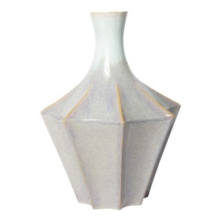 Contemporary 80 Carat Pottery Vase by John Antzcak For Sale