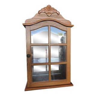 Wall Mounted Curio Cabinet For Sale