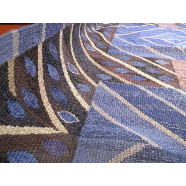 Mid-Century Modern Marta Maas-Fjetterstrom Flatwoven Carpet For Sale - Image 3 of 10