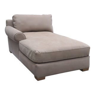 Restoration Hardware Right Arm Chaise For Sale
