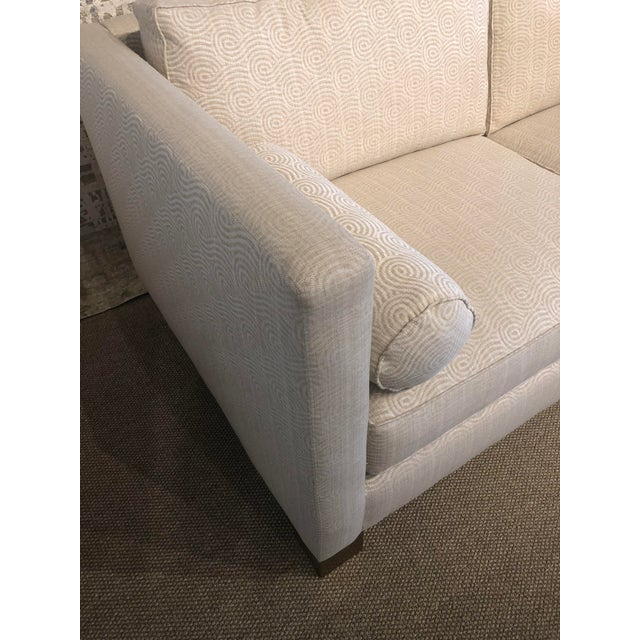 Gold White Scalamandre Upholstered Sofa For Sale - Image 8 of 11