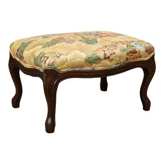 Small Louis XV Style Footstool For Sale