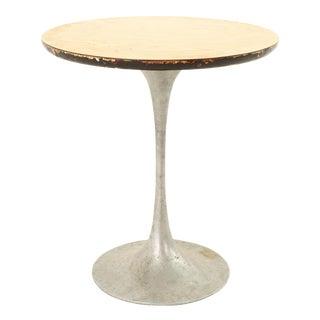 Eero Saarinen Style Mid Century Tulip Base Side End Table For Sale