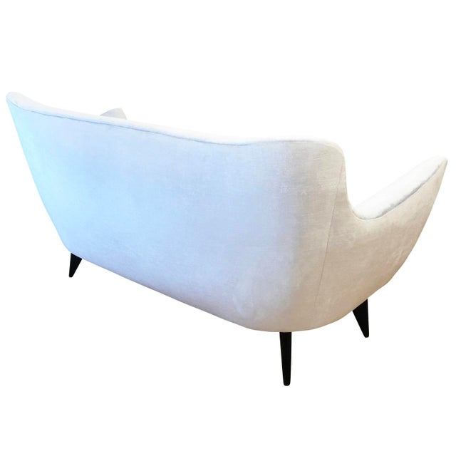 "1950s Guglielmo Veronesi ""Perla"" Sofa, Italy, 1950's For Sale - Image 5 of 7"