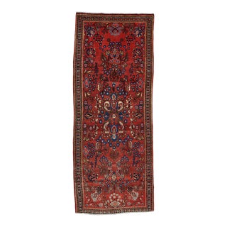 Vintage Persian Malayer Rug 4'4'' X 10'9'' For Sale