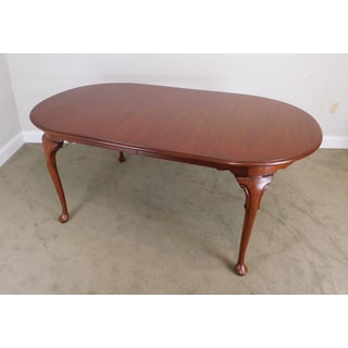 Henkel Harris Solid Cherry Queen Anne Style Dining Table Preview