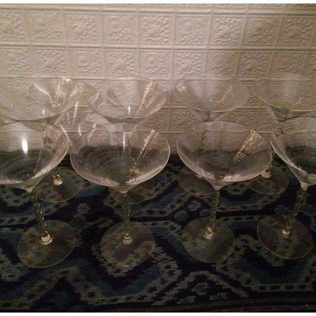 Martini Glasses - Set of 8 - Image 4 of 4